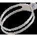 Colier cap toba lung FMF Titanium 4